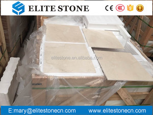 "Natural stone cream marfil marble floor tile, Crema Marfil 60x60 / 24"" x 24"" polished marble floor tiles, the best beige marble."