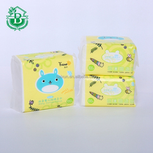 facial tissue box design wholesale soft customized color facial tissue