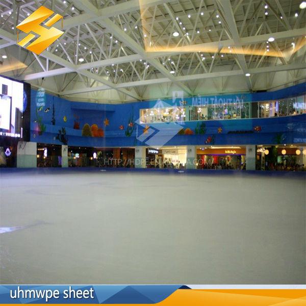 Portabilité de hockey sur glace uhmwpe matériel/patinoires