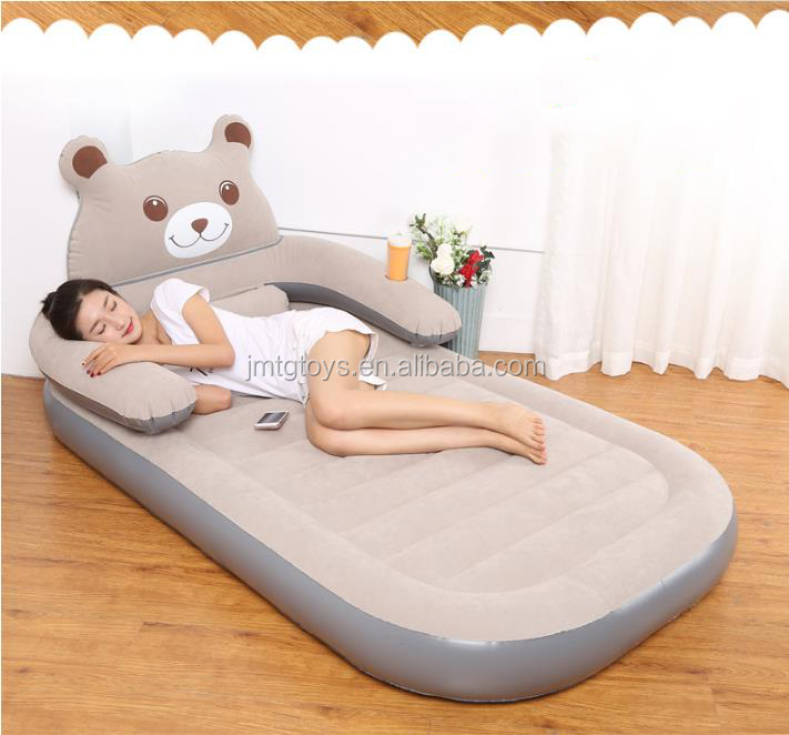 inflatable sofa bed pvc singer size air bed portable bed