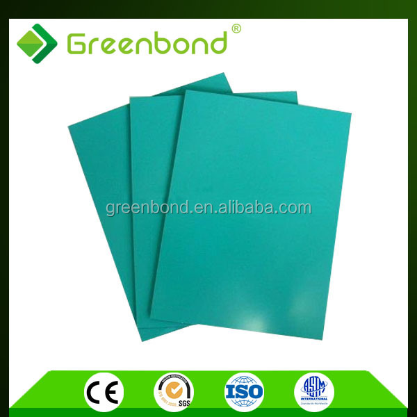 Greenbond aluminum decorative wall painting for insulated panels of design acp sheet