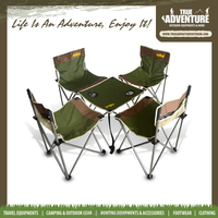 True AdventureTA7-018 camping Equipment Folding Chair with Cup Holder Outdoor Lightweight Camping Chair camping chair wholesale