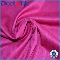2 way stretch elastane suede fabric with quality promised