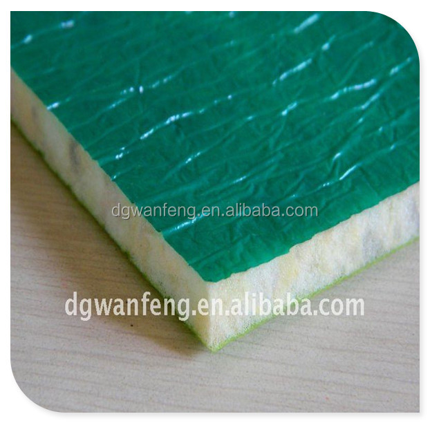thermal insulation flooring underlay/underlayment for outdoor carpeting