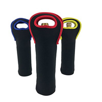 Lightweight Insulated Neoprene 1 Pack Picnic Beer Baby Bottle Tote Sleeve Holder Can Cooler Bag