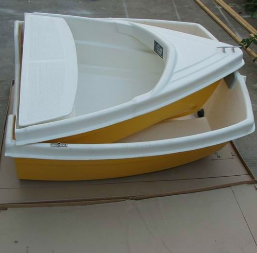 2.54M paddle <strong>boat</strong> Small Dinghy Fiberglass Fishing <strong>Boat</strong>