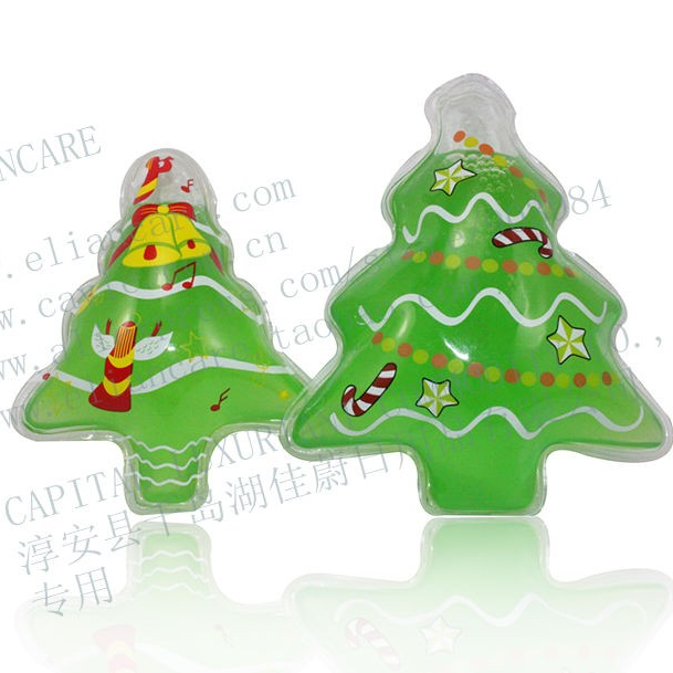 30 ml Groene Kerstboom Vorm Bubble bad in PVC Zak douchegel Gift baby bad