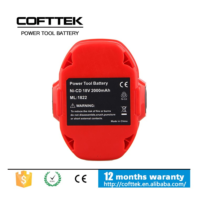 2.0AH NI-CD Battery for MAKITA 1210 5092D 5092DW 18 Volt Cordless Drill