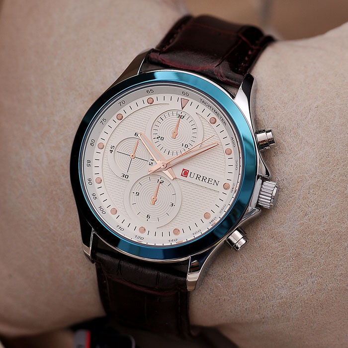 write casual sports luxury watches watch military clock relogio s quartz wrist curren a brand leather date review masculino mens man men
