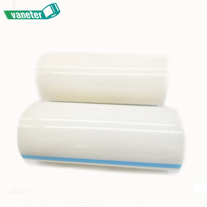 Factory directly sell transparent pe surface protection tape for pvc window profile