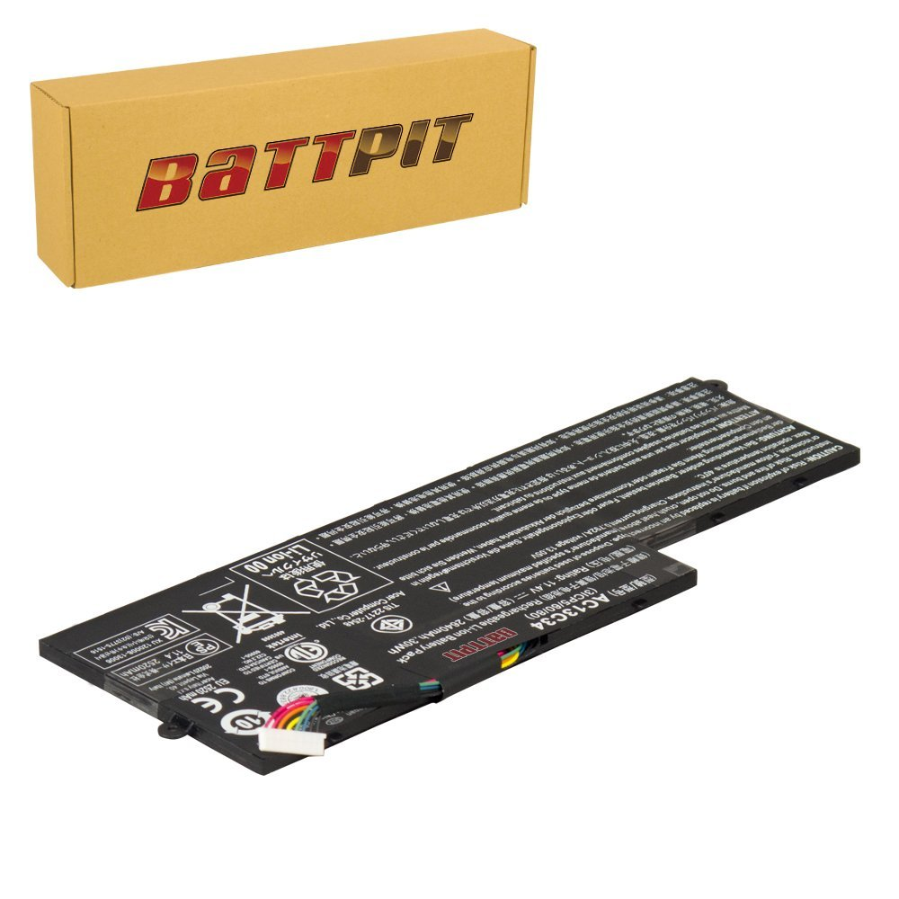 Battpit™ Laptop / Notebook Battery for Acer Aspire V5-122P-0681 Aspire V5-122P-0857 Aspire V5-122P-0649 Aspire V5-122P-0825 Aspire V5-122P-0679 (2520mAh / 30Wh)