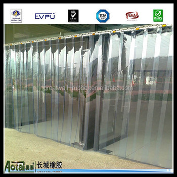 Anti Static Clear Smooth Plastic Door Pvc Strip Curtains