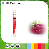 Plant extract green and natural purple food grade coloring
