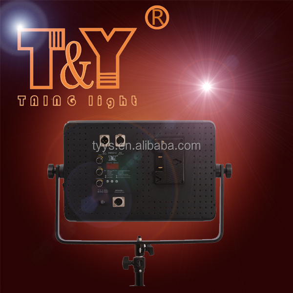 bi-color AB battery led camera light