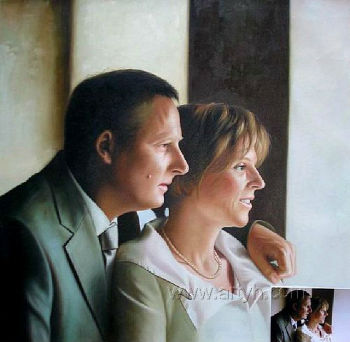 Custom Handmade Portrait Oil Painting From Photo