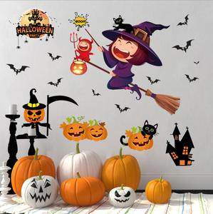 Halloween Wall Decorations party decoration Wall Sticker