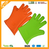 FDA standard high quality Silicone Heat-resistant colorful Oven Mitt with Silicone Print for Non Slip