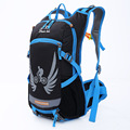 18L Capacity Waterproof Nylon Fabric Outdoor Sports Cycling Backpack Multicolor Men and Women