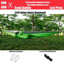 lightweight parachute double portable camping outdoor hammock