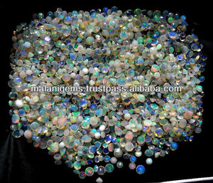 Gem Ethiopian Opal Round 3mm Normal Cut Loose