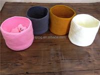 Hand crochet Flower pot , Basket , Housewarming gift , Crochet pattern