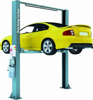 High quality automatic release car lifter / hydraulic garage car lift