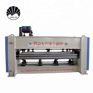 ZCJ-1 Up stroke needle punching machine, needle felt making machine