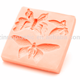 Hot style 3 beautiful butterfly molded sugar candy silicon gel molds DIY baking cupcake decoration tools