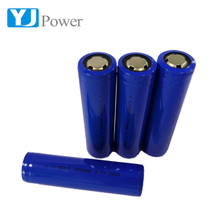 YJ18650 3.7v 3000mah 18650 rechargeable lithium ion battery