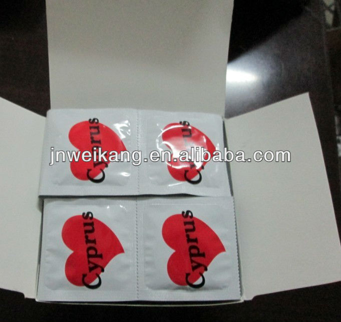 Promotional Condom With Custom Printed (Manufacturer )