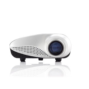 Chinese cheap Multimedia Home theater Portable LED mini LCD Projector for Business Promotion Gifts