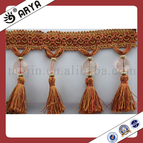 Tassel For Garments Accessories Fringe Trims Curtain Beads For ...