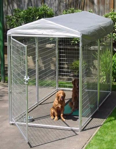 Temporary Dog Run : Portable extérieure dog run chenil temporaire chien