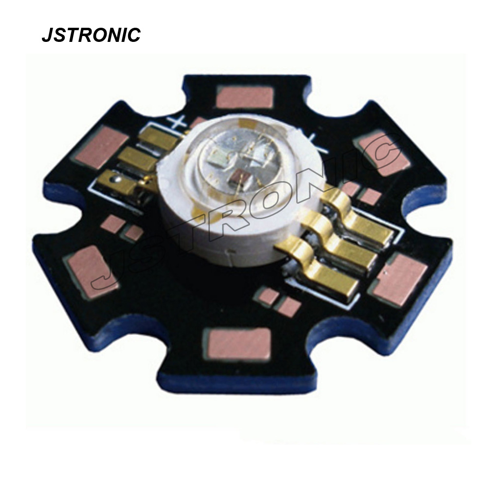 6 Terminal High Power 3w Rgb Led With Star Pcb Buy Led6 Rgb6 Product On