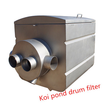 Drum filter for koi pond and pool buy drum filter koi for Koi pond pool filter
