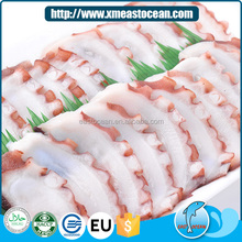 Wholesale low price heathy delicious frozen japanese sushi frozen octopus slice for sale