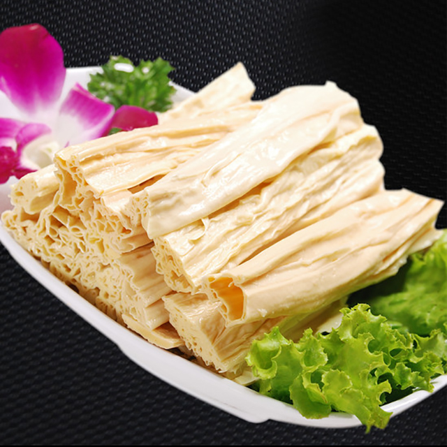 High Quality Food Products Soybean Products Dried Tofu Skin Bean Curd Skin