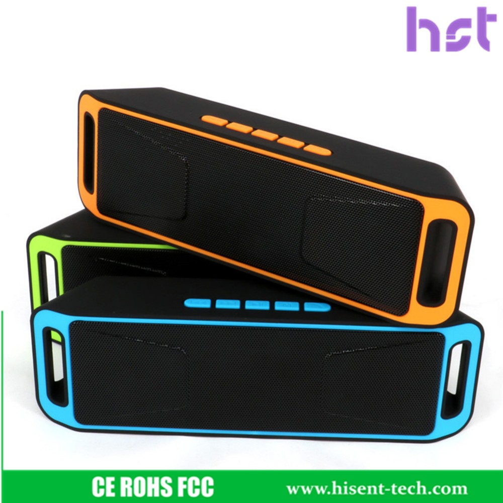 Best Value HST-208 Portable Bluetooth Speaker for mobile phone and tablet pc, super quality of sound