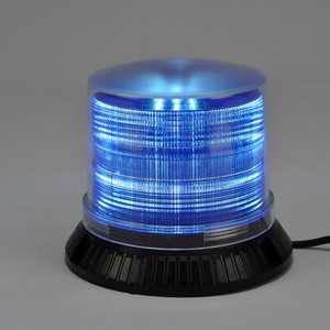 9-30V blue led emergency beacon lights for Engineering vehicle & industry machinery equipment