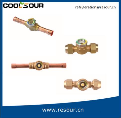 Coolsour oil level sight glass , Refrigeration Fittings