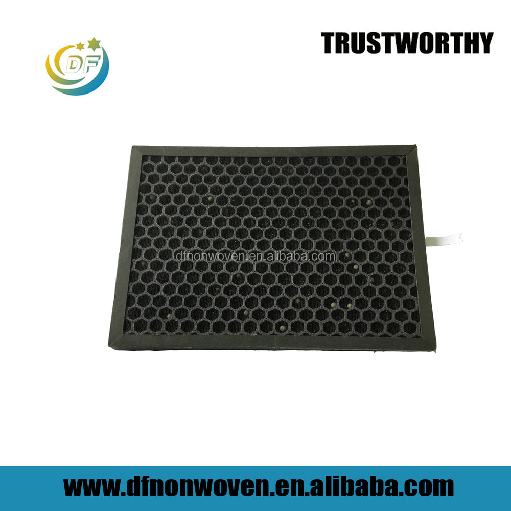 HVAC Honeycomb Activated Carbon Filter Industrial Activated Carbon Filter For Odor Remove Pm2.5 Activated Carbon Air Filter
