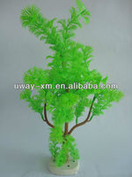 Big Tree Shaped Fish Tank Aquarium Plant With Ceramic Bottom