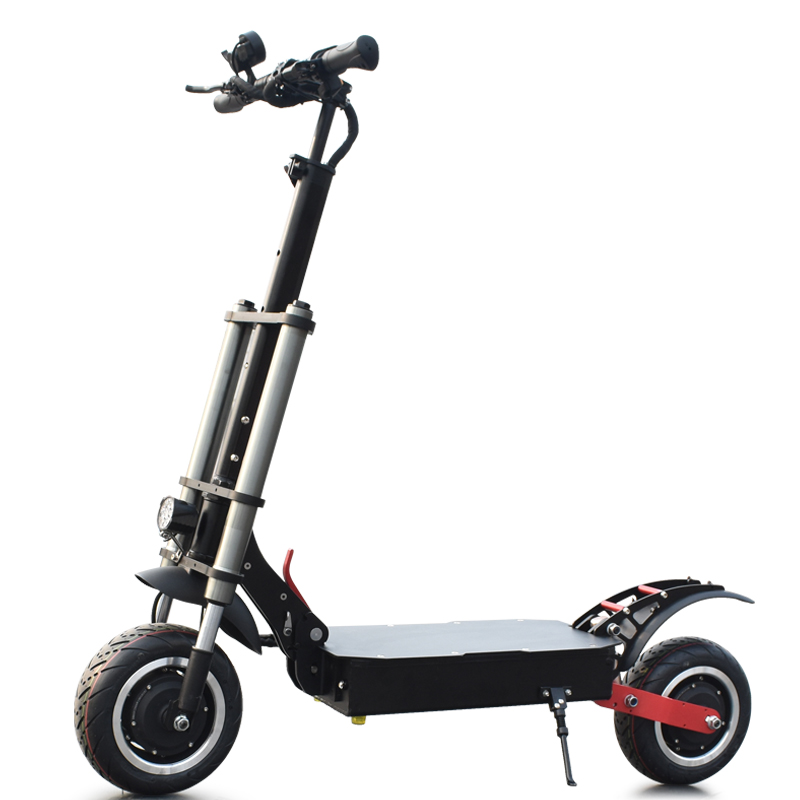60V 3200W dual motor powerful electric scooters 11inch High Quality long range foldable off road tire and Road tire