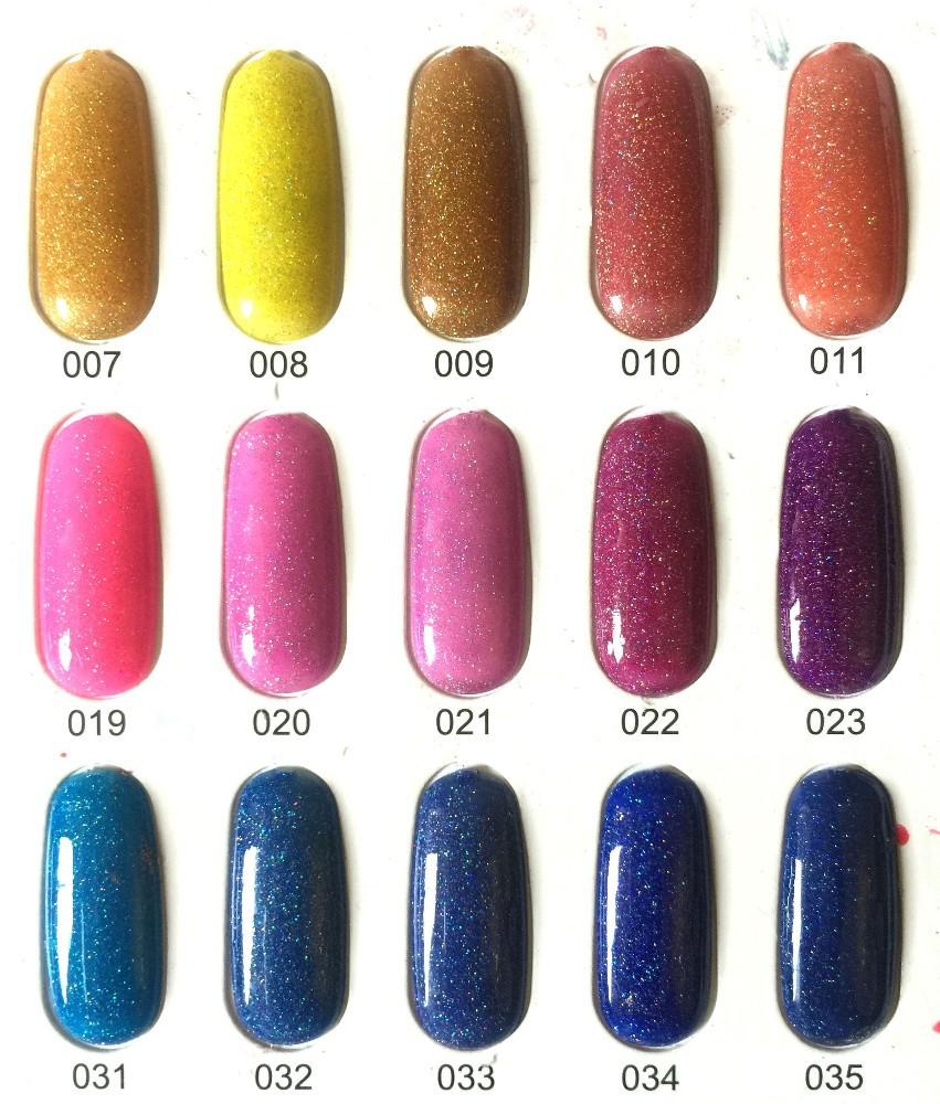 2015 New Radium Glitter Gel Polish,Nail Color Gel Polish - Buy New ...
