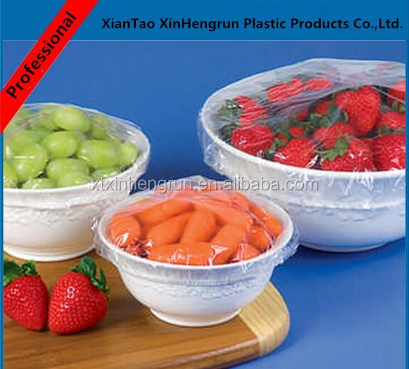 Factory wholesale disposable plastic elastic bowl cover food cover pan cover