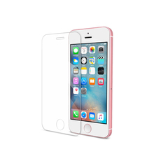 Mobile accessories flat anti fingerprint 0.3mm 9H 2.5D screen protector for iphone 6 tempered glass
