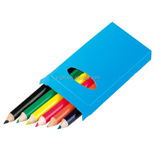 Promotional Mini Colored Pencil 6 Pack