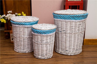Easy to operate popular sale wicker laundry hamper basket