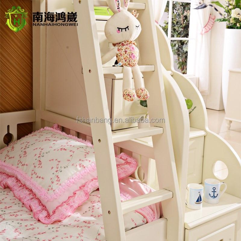 3 ebene kinder holz mdf herausziehen etagenbett m bel mit schublade treppe schlafzimmer set. Black Bedroom Furniture Sets. Home Design Ideas