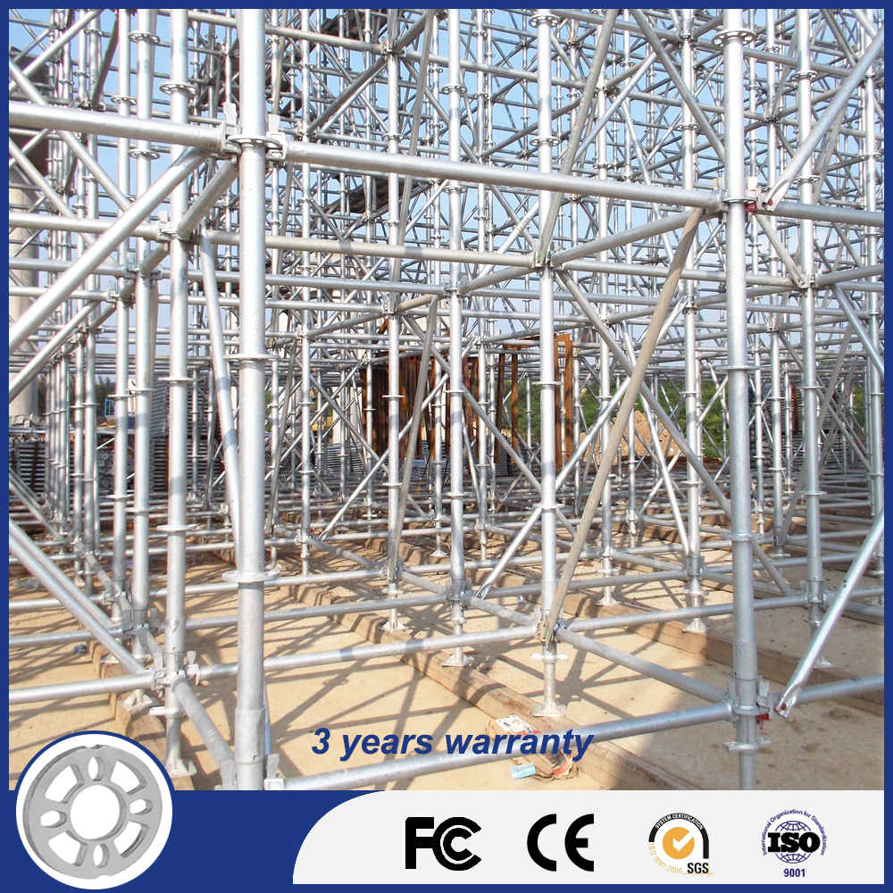 Easy Instal All-Round Ring-Lock Scaffold/Scaffolding System
